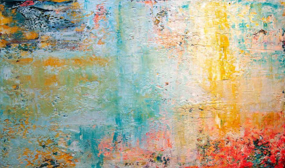 All the Good Stuff that can not be Measured | Oil on Canvas | 120 x 200 cm