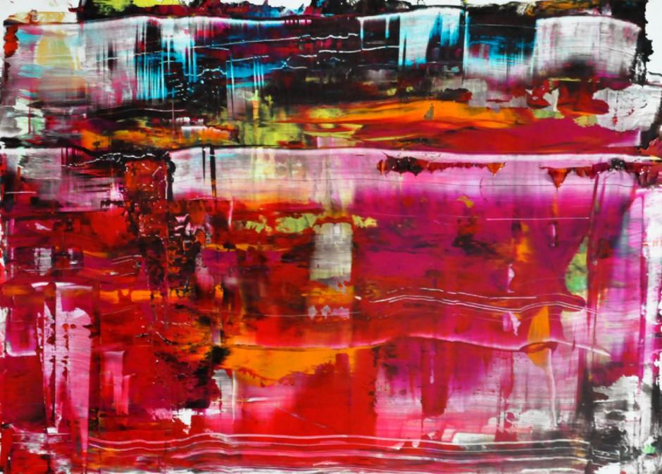Dancing City | Oil on AluDibond | 40 x 60 cm