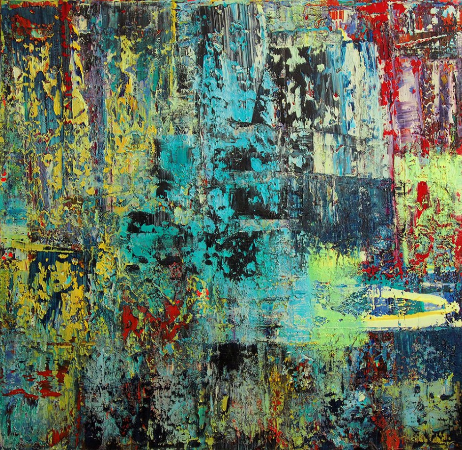 Dragon   Oil on canvas   200 x 200 cm