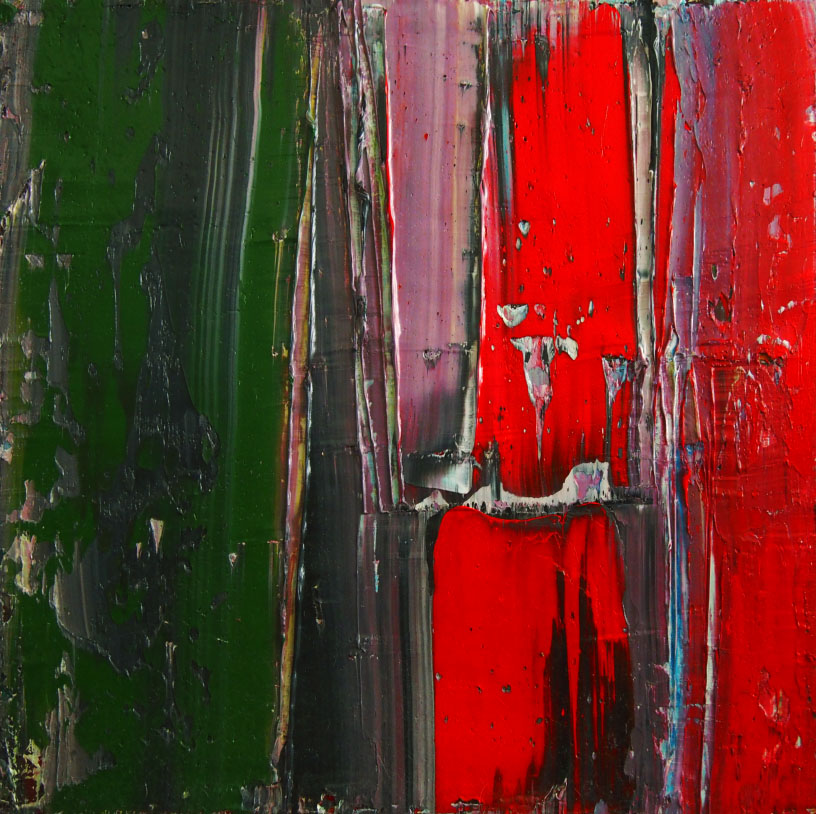 Evolution Nr. 15   Oil on canvas   80 x 80 cm