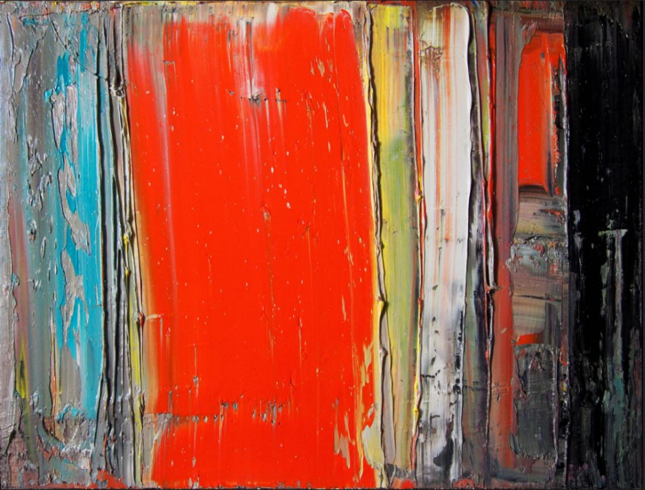 Evolution Nr. 5   Oil on canvas   60 x 80 cm