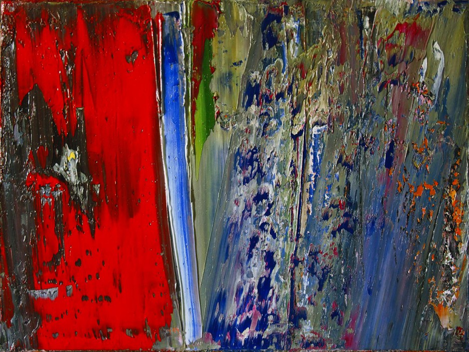 Evolution   Oil on AluDibond   60 x 80 cm