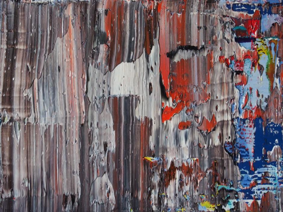 Far Away Nr. 2   Oil on AluDibond   30 x 40 cm