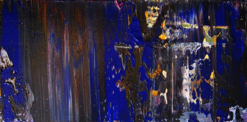 Far Away | Oil on AluDibond | 25 x 50 cm