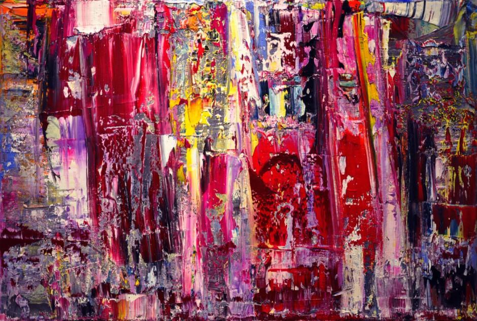 Midnight Tango   Oil on canvas   100 x 150 cm