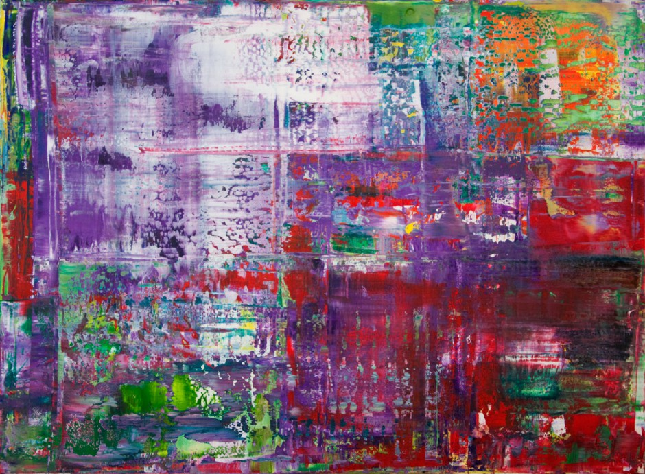 Opera IV | Oil on AluDibond| 83 x 114 cm Saskia Porkay
