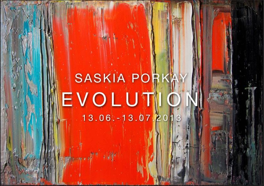 "Solo Exhibition ""EVOLUTION"" | 13.06.-13.07.2013 | Galerie flash, München"