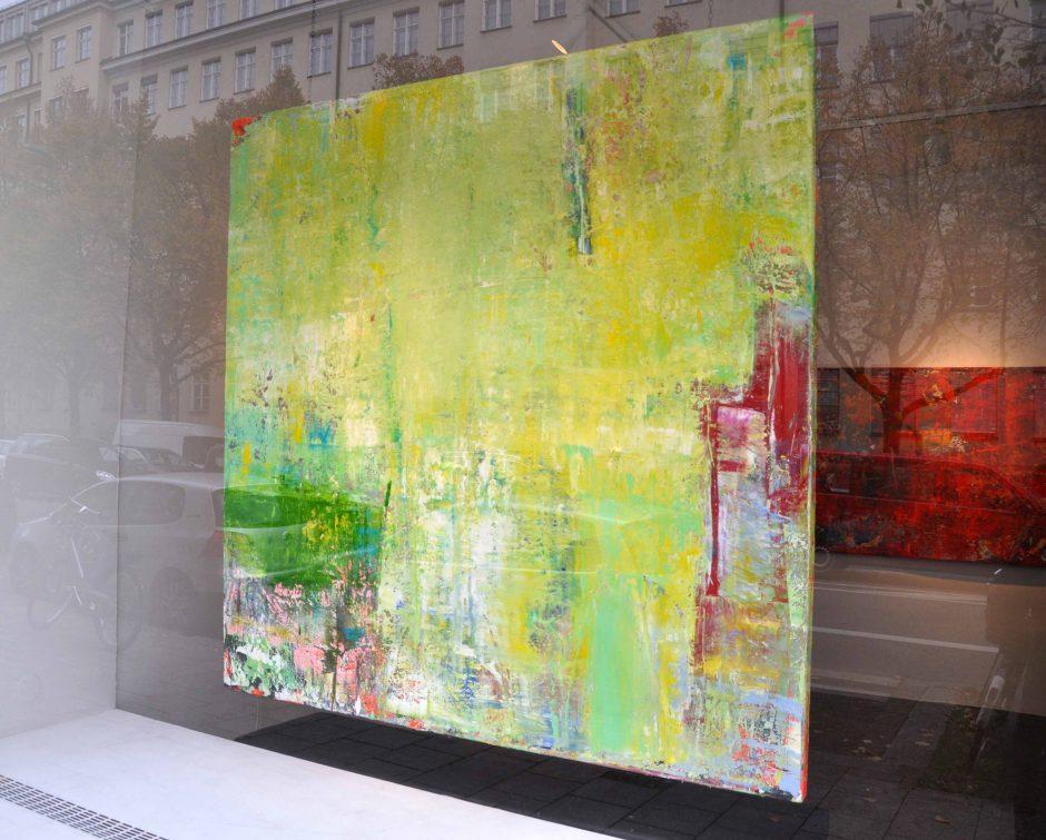 SECRET ESCPAE | Oil on Canvas | 180 x 180 cm