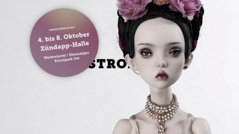 STROKE Art Fair Munich | 04.10. – 08.10.2017